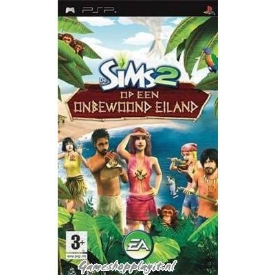De Sims 2 Op Een Onbewoond Eiland PSP