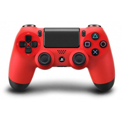 Foto van PS4, Wireless Dualshock 4 Controller V2 - Magma Red