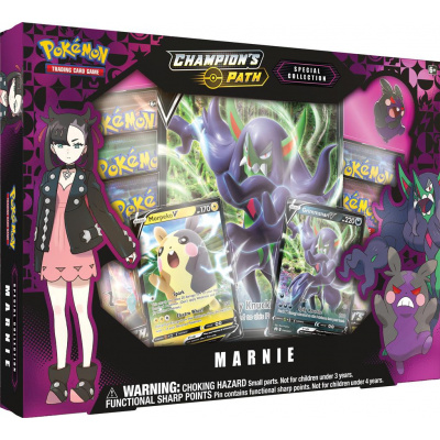 Foto van TCG Pokémon Champion's Path Special Collection Marnie POKEMON