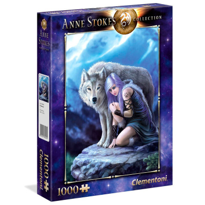 Anne Stokes Protector Puzzle 1000pc PUZZEL