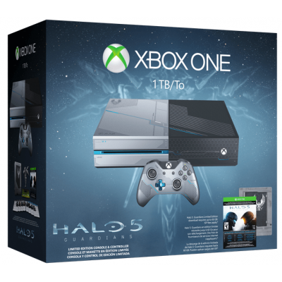 Foto van Xbox One Console - Halo 5 Limited Edition - 1TB XBOX ONE