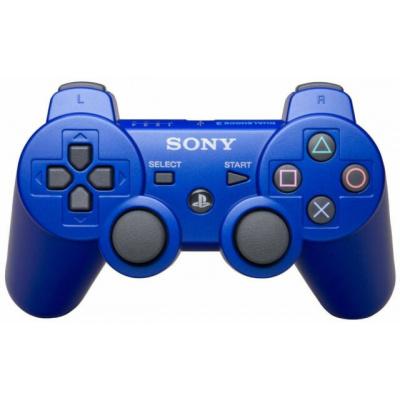 Foto van Sony Wireless Dualshock 3 Controller (Metallic Blue) PS3