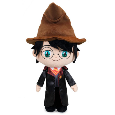 Foto van Harry Potter - Harry Potter with Sorting Hat Pluche 34cm PLUCHE