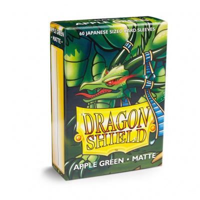 TCG Sleeves - Dragon Shield - Apple Green Matte Japanese Size