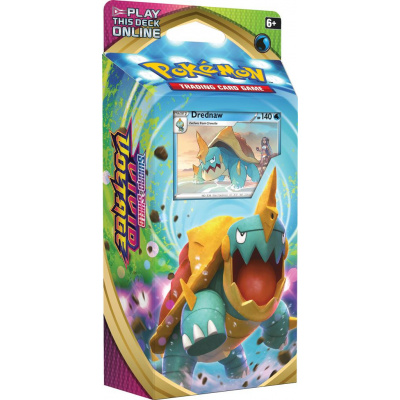 Foto van TCG Pokémon Sword & Shield Vivid Voltage Theme Deck - Drednaw POKEMON