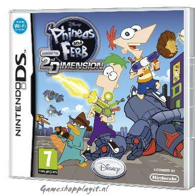 Phineas And Ferb Across The 2Nd Dimension NDS