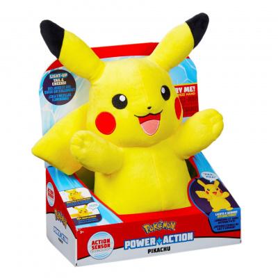 Foto van Pokémon - Power Action Pikachu Pluche PLUCHES