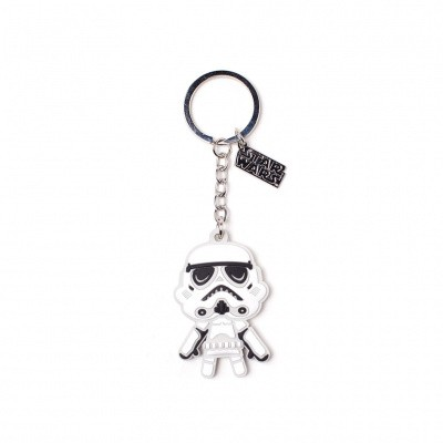 Foto van Star Wars - Storm Trooper Rubber Keychain