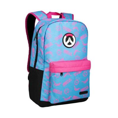 Overwatch D.Va Splash Backpack Blue/Pink MERCHANDISE