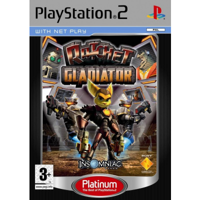 Foto van Ratchet Gladiator (Platinum) PS2