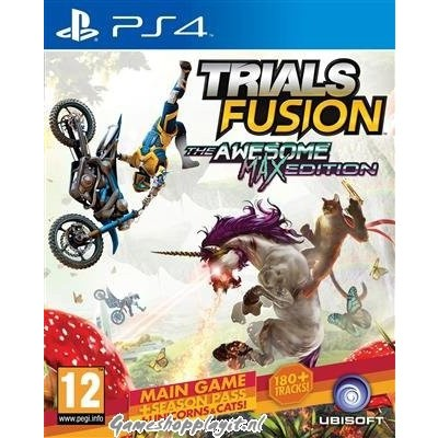 Foto van Trials Fusion The Awesome Max Edition PS4