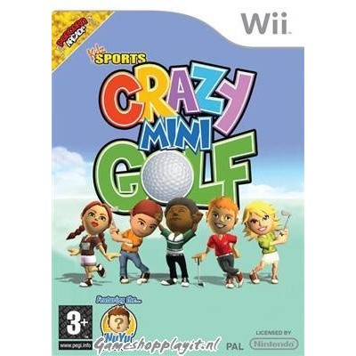 Foto van Crazy Mini Golf WII