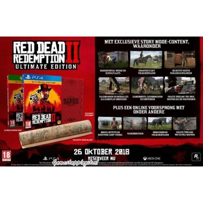 Foto van Red Dead Redemption 2 Ultimate Edition XBOX ONE