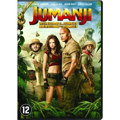 Foto van Jumanji Welcome To The Jungle DVD
