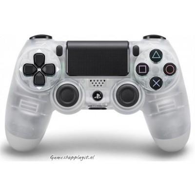 Foto van Sony Wireless Dualshock 4 Controller (Crystal) PS4