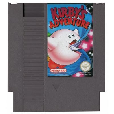 Foto van Kirby's Adventure (Losse Cassette) NES