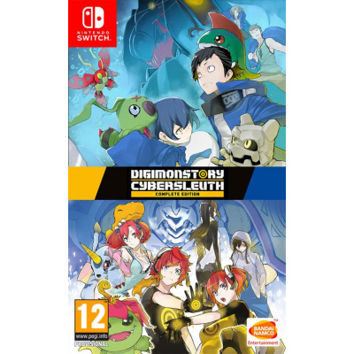 Foto van Digimon Story Cyber Sleuth Complete Edition SWITCH