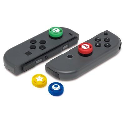 Foto van Hori Super Mario Analog Caps (Set Of 4) SWITCH