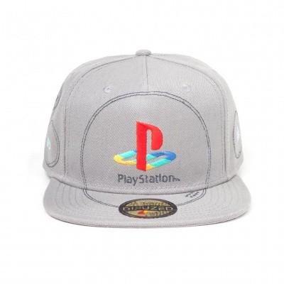 PlayStation - Silver Logo Snapback MERCHANDISE