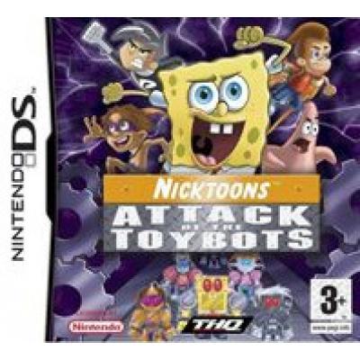 Foto van SpongeBob en zijn vrienden: Aanval van de Speelgoed Robots (Losse Game) NDS