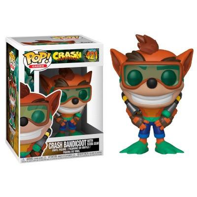 Pop! Games: Crash Bandicoot - Crash Bandicoot With Scuba Gear FUNKO