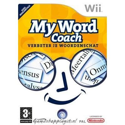 My Word Coach Verbeter Je Woordenschat WII