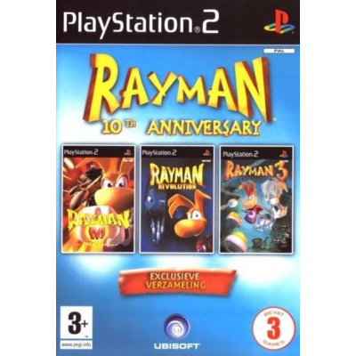 Rayman 10Th Anniversary Sleeved Edition PS2