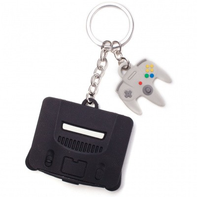 Nintendo - N64 3D Rubber Keychain