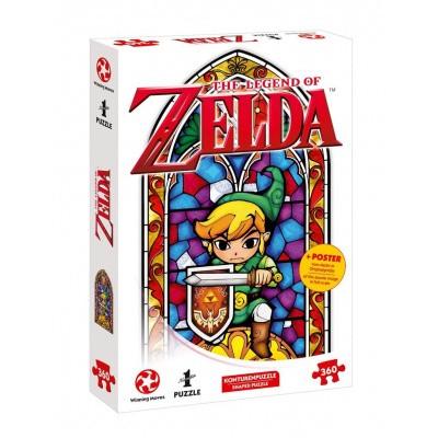 Foto van The Legend Of Zelda Link The Hero Of Hyrule Puzzle 360pc PUZZLE