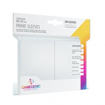 TCG Prime Sleeves 66 x 91 mm - White (Standard Size/100 Stuks) SLEEVES