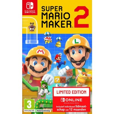 Super Mario Maker 2 + Nintendo Switch Online (Limited Edition) SWITCH