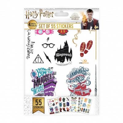 Harry Potter - 50 Sticker Set MERCHANDISE