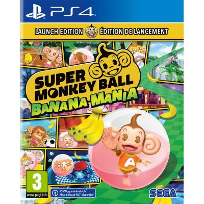 Foto van Super Monkey Ball: Banana Mania - Launch Edition PS4