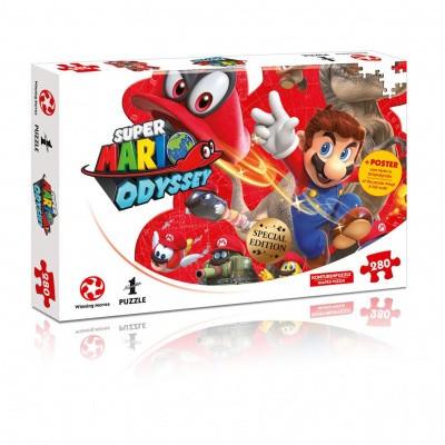 Foto van Super Mario Odyssey Mario & Cappy Puzzle 280pc PUZZLE