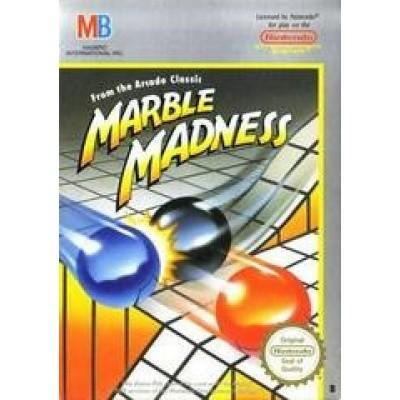 Foto van Marble Madness NES