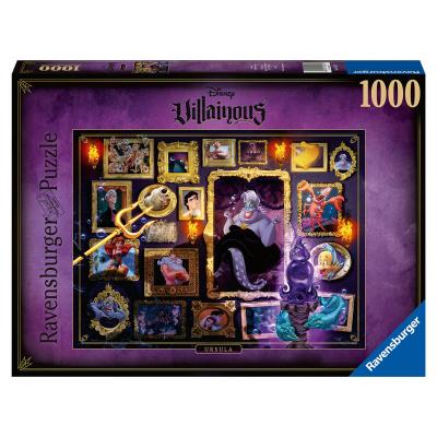 Disney Villains Ursula puzzle 1000pc PUZZEL