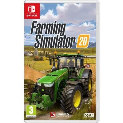 Foto van Farming Simulator 20 SWITCH