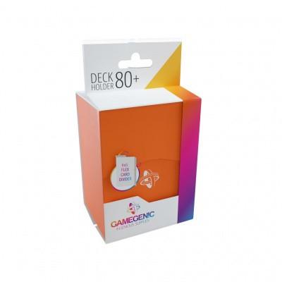 TCG Deckbox Deck Holder 80+ - Orange DECKBOX