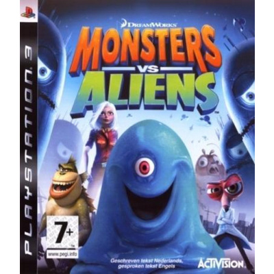 Monsters Vs Aliens PS3