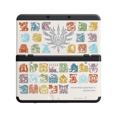 Foto van New 3Ds Cover Plate Monster Hunter 4 3DS