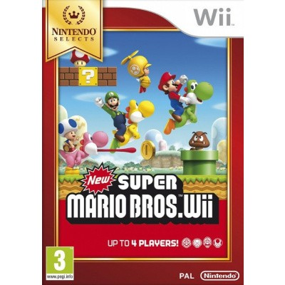 New Super Mario Bros. (Selects) Wii