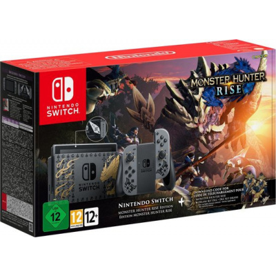 Foto van Nintendo Switch Console (2019 upgrade) Monster Hunter Rise Edition SWITCH