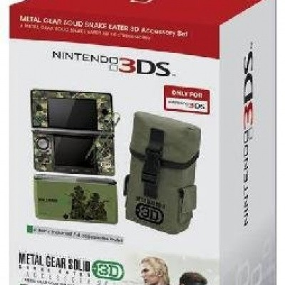 Metal Gear Solid Snake Eater 3D Accessory Set 3DS