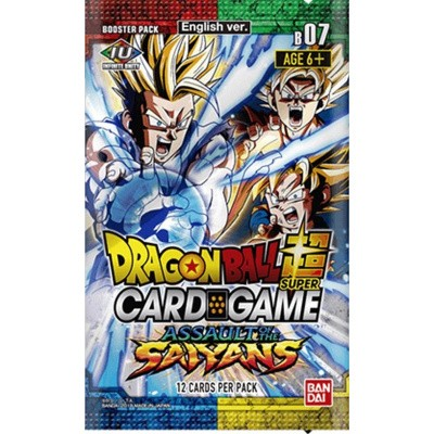 Foto van TCG Booster Pack Dragonball SCG Assault Of The Saiyans DRAGONBALL