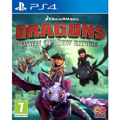 Dragons: Dawn Of The New Riders PS4