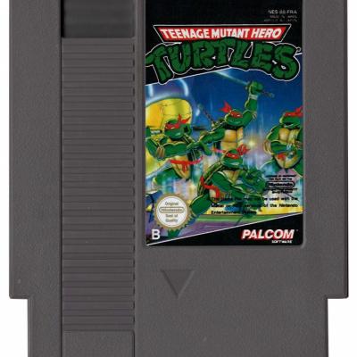 Foto van Teenage Mutant Hero Turtles (Losse Cassette) NES