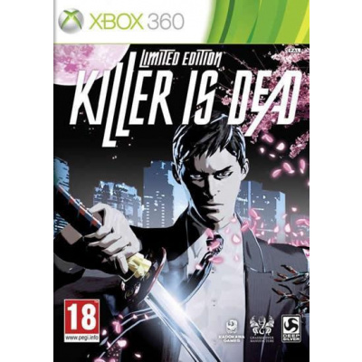 Killer Is Dead Limited Edition XBOX 360