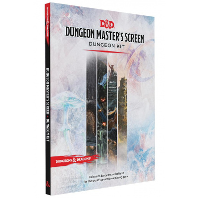Foto van D&D 5.0 Dungeon Master's Screen Dungeon Kit DUNGEONS & DRAGONS
