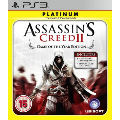 Assassin's Creed II (Game of the year edition) PS3
