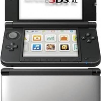 Foto van Console 3Ds XL Silver+Black 3DS